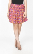 flower_pattern_skirt_pink