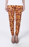 long_flower_legging_yellow