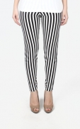stripes_legging_black