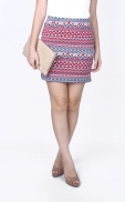 tribal_bandage_skirt_red