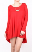 highlow_straight_blouse_red