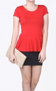 peplum_basic_top_red