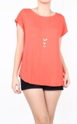 short_sleeve_blouse_peach